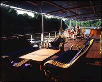 RV River Kwai - Sitting Area on the Upper Deck
