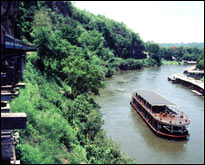 RV River Kwai Passing Death Railway