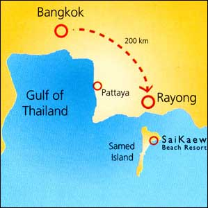 Saikaew Beach Resort Rayong Ko Samet Hotels Discount Hotels in